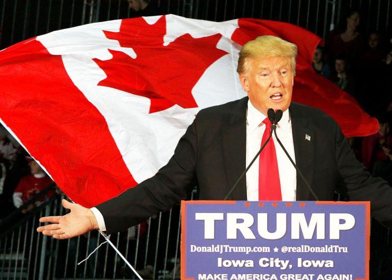 Sitio de migración a Canadá colapsa tras victoria de Trump