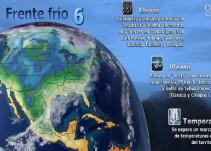 Pronóstico del Tiempo del 09 de noviembre