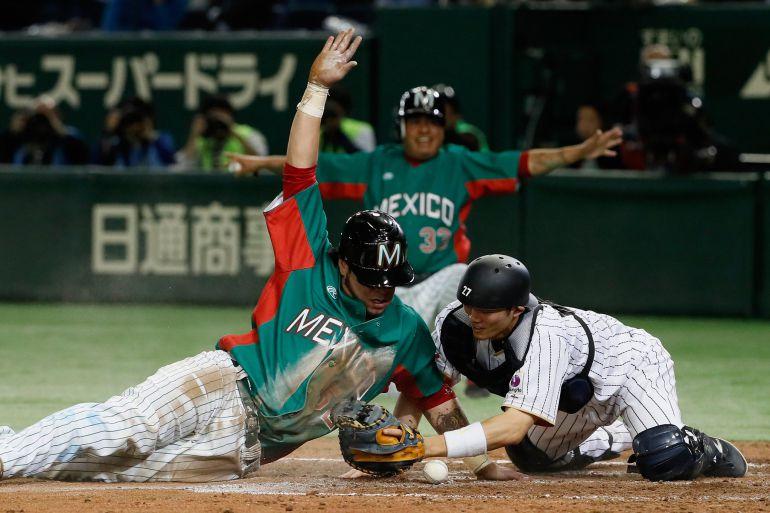 Selección Mexicana de Beisbol no puede repetir triunfo ante Japón