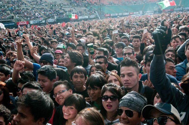 Asistencia al Vive Latino