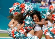 El Mannequin Challenge de las porristas de los Delfines de Miami de la NFL