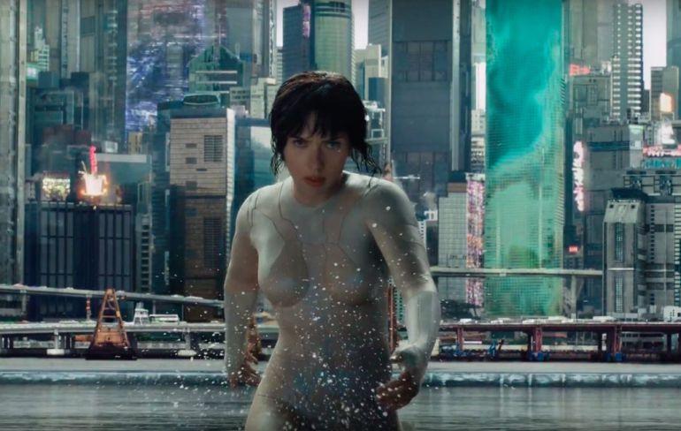 """Publican el primer tráiler de """"Ghost In The Shell"""", con Scarlett Johansson"""