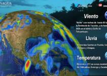 Pronóstico del Tiempo del 16 de noviembre