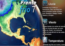 Pronóstico del Tiempo del 18 de noviembre