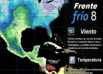 Pronóstico del Tiempo del 22 de noviembre