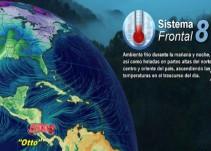 Pronóstico del Tiempo del 23 de noviembre