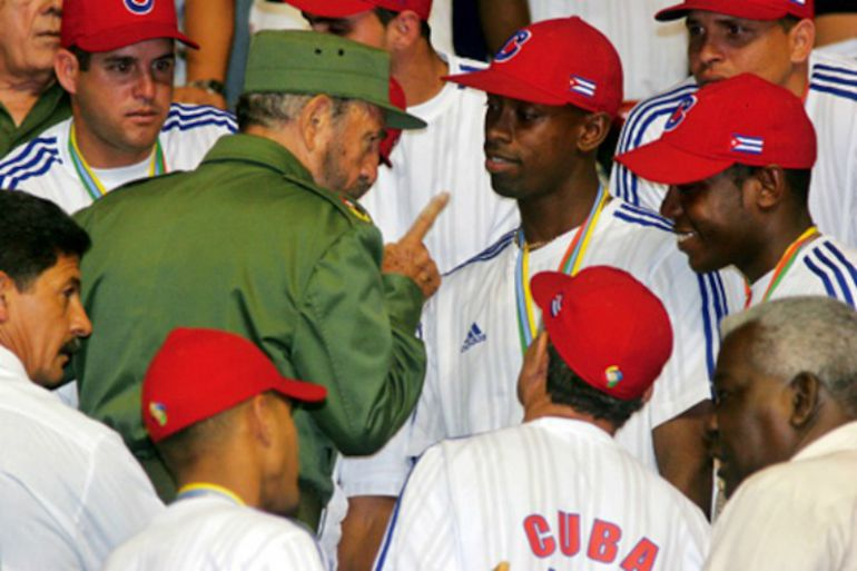 La influencia de Fidel Castro en el deporte cubano