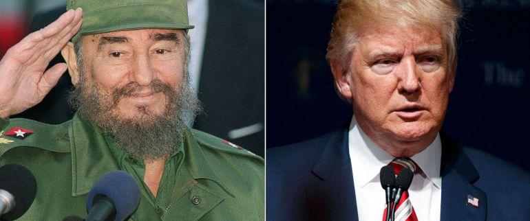 """Trump llama """"brutal dictador"""" a Fidel Castro"""