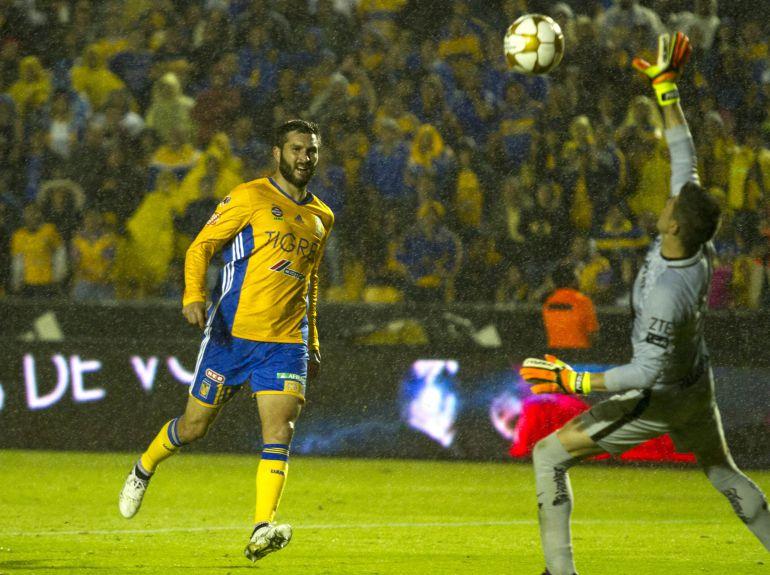 "Aficionados de Tigres festejan al son de ""Bomboro quiña quiña"""