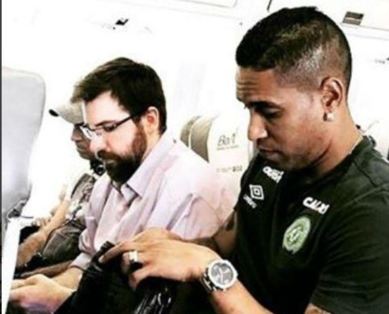 ¿Premonitorio mensaje de un futbolista del Chapecoense?