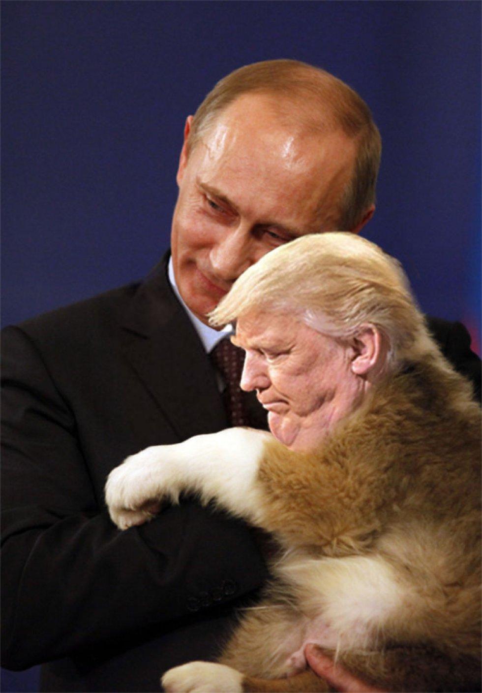 """Trump dice que """"odia"""" una foto y el internet le responde así"""