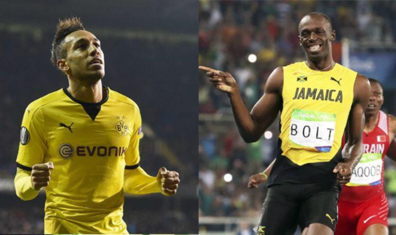 Futbolista del Borussia Dortmund reta a Usain Bolt a una carrera de 30 metros
