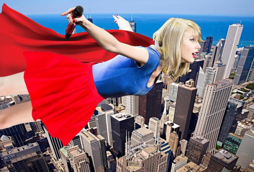 Foto de Taylor Swift desata una batalla de photoshop