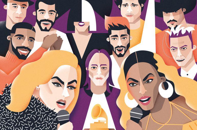 Estos son todos los nominados a los Grammy 2017