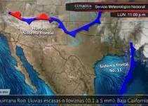Pronóstico del Tiempo del 06 de diciembre
