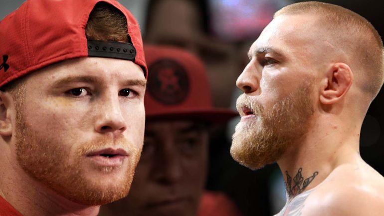 Canelo Álvarez y Conor McGregor podrían pelear el próximo año