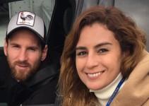 Messi y Neymar reciben críticas por ser poco caballerosos con Paola Espinosa