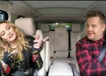 """Madonna se confiesa en el """"Carpool Karaoke"""""""