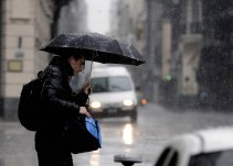 Brilla por fuera mientras llueve, se inunda y se cae por dentro el edificio de Semarnat