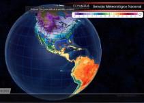 Pronóstico del Tiempo del 08 de diciembre