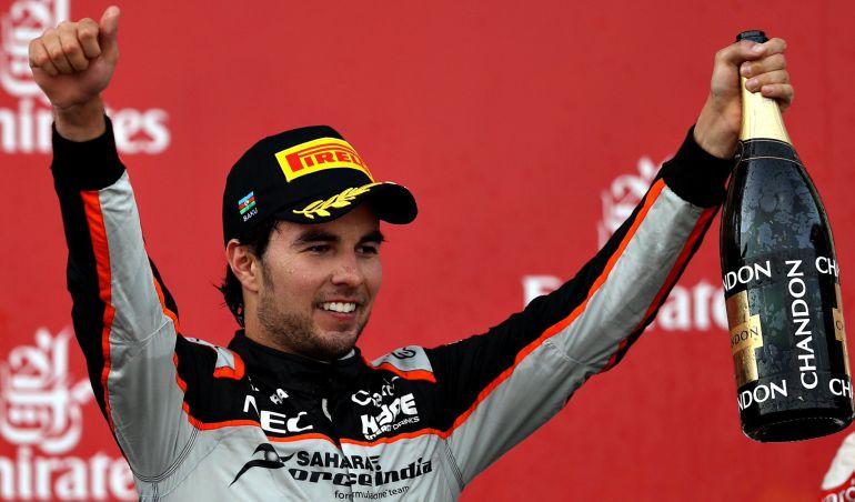 Checo Pérez es uno de los 50 mejores pilotos de la temporada 2016