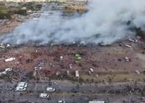 [Fotogalería] Explota mercado de pirotecnia en Tultepec