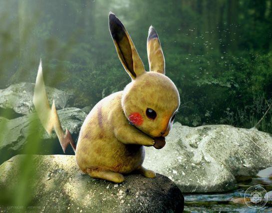 Artista nos revela cómo serían los Pokémons en el mundo real