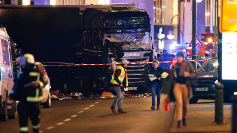 Policía deja en libertad al detenido por el atentado de Berlín