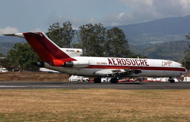 Se estrella avión de Aerosucre en Colombia