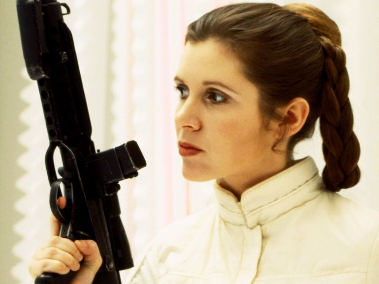 "Muere a los 60 años Carrie Fisher, la Princesa Leia en ""Star Wars"""