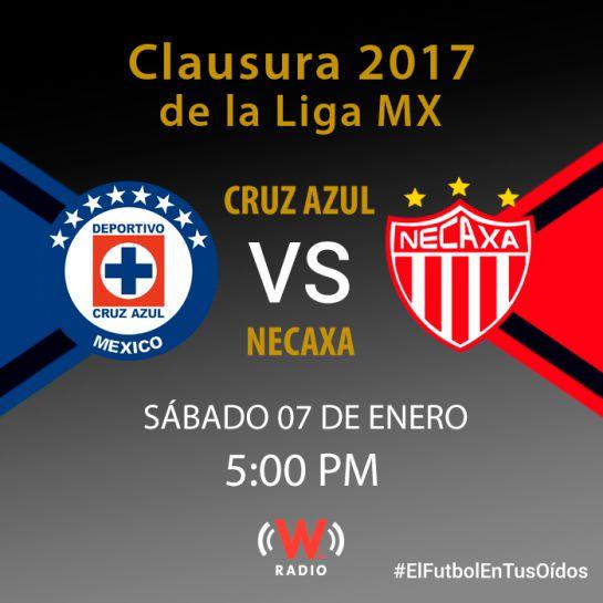 Cruz Azul y Necaxa Clausura 2017
