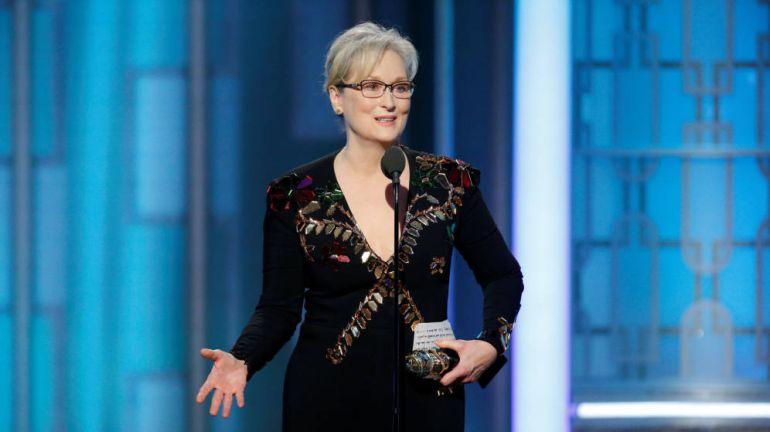 El polémico discurso de Meryl Streep en los Globos de Oro 2017