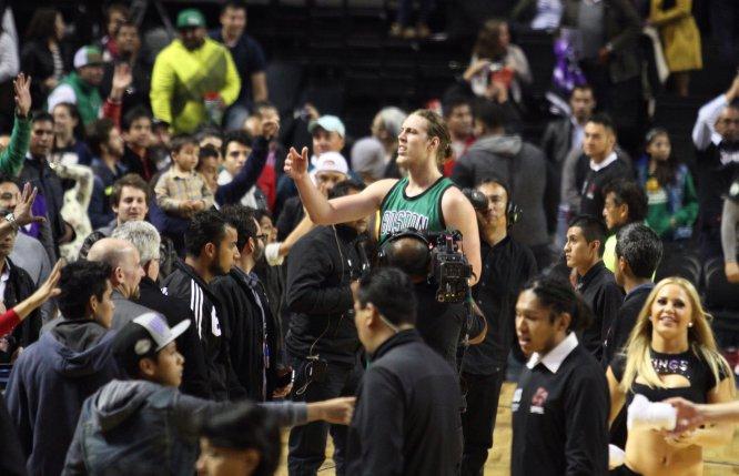 Las mejores imágenes del último juego de la NBA en México