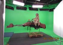 Así se ven los actores antes de agregarles efectos especiales