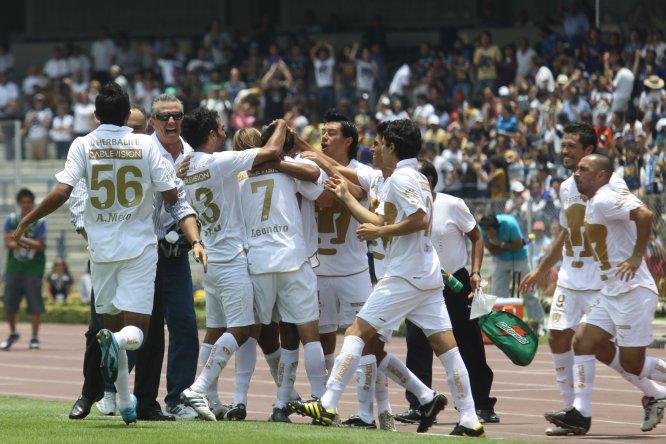 El último triunfo de Pumas sobre Cruz Azul en Ciudad Universitaria