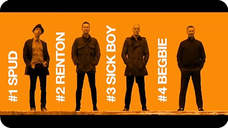 Filtran el soundtrack de Trainspotting 2