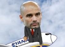 Compañía aérea se burla de Pep Guardiola
