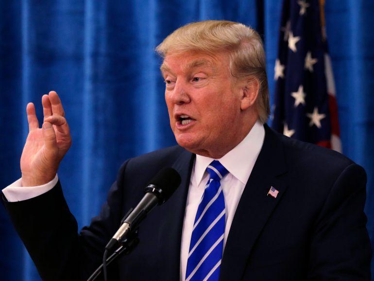 """""""Resguardando nuestras fronteras, podremos mejorar nuestra relación con México"""":Donald Trump"""