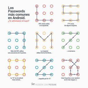 Encuentran patrón que desbloquea 95% de los teléfonos Android