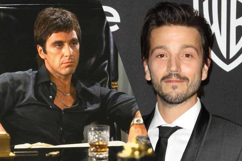 """Diego Luna se convertirá en Tony Montana para el remake de """"Scarface"""""""