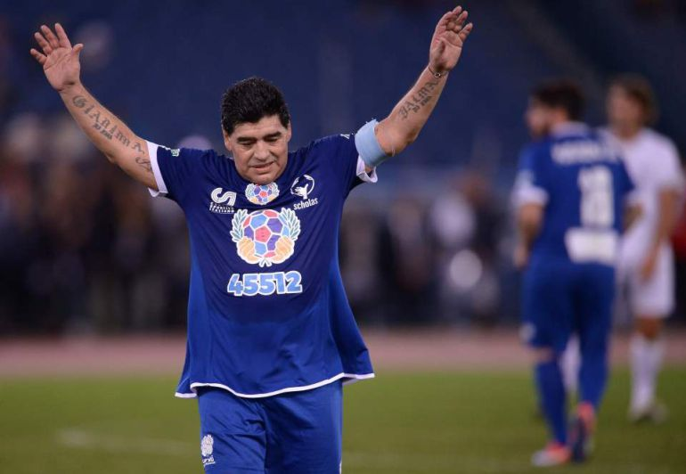 Maradona será conferencista en Harvard