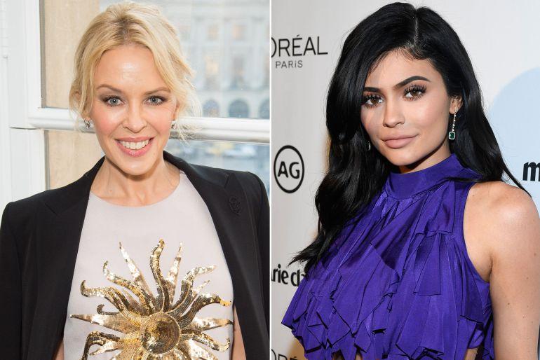 Kylie Minogue gana batalla legal en contra de Kylie Jenner