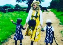 Madonna presenta a sus nuevas gemelas