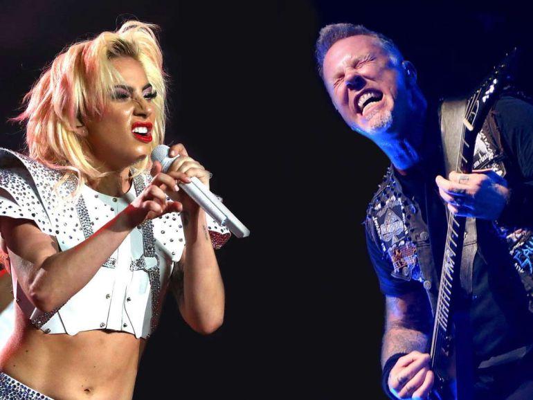 Lady Gaga a dueto con Metallica