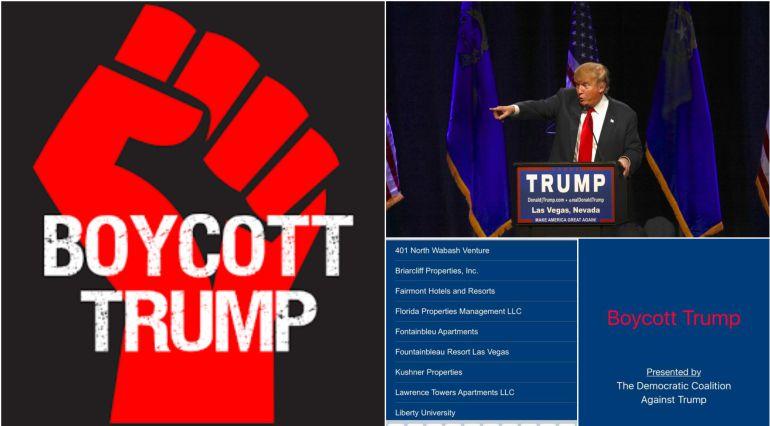 Lanzan app contra Trump