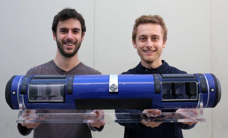 Universitarios españoles diseñan el tren que 'vuela' a 1.000 km/h