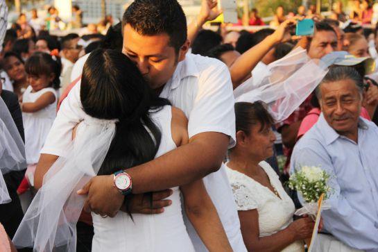Este 14 de Febrero, 220 parejas se casaron en México