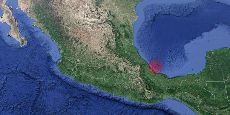 Fuerte temblor sacude a Veracruz