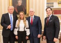 """Trump pide la liberación """"inmediata"""" de Leopoldo López"""