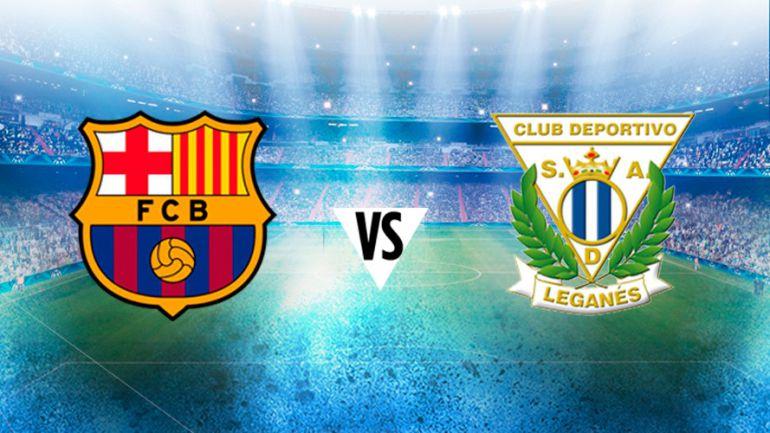 Barcelona sufre, pero saca agónico triunfo contra Leganés